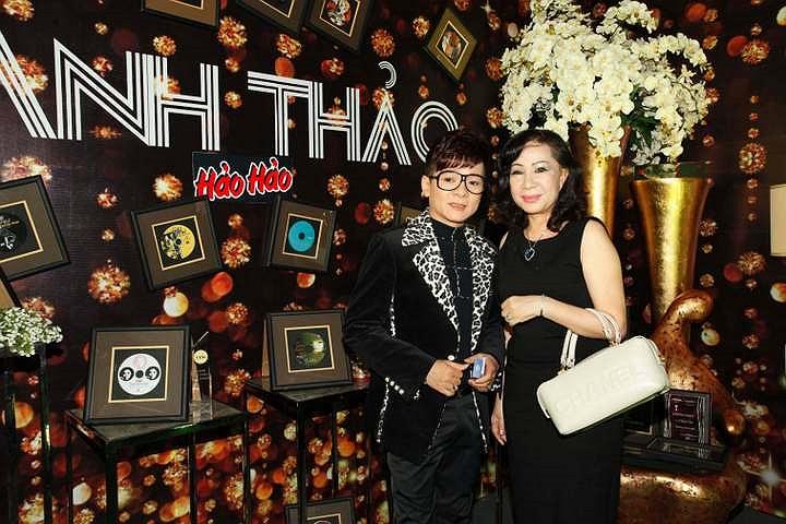 Vợ chồng ca sỹ Vũ Hà