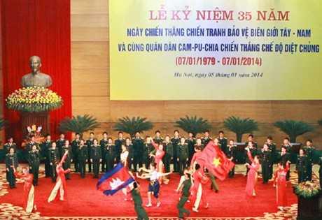 Campuchia, quân tình nguyện, diệt chủng, chủ tịch quốc hội,Pol Pot, Trương Tấn Sang