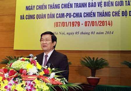 Campuchia, quân tình nguyện, diệt chủng, Pol Pot, Trương Tấn Sang