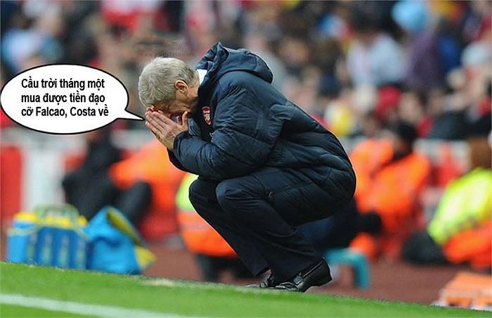 Giấc mơ mùa đông của Arsene Wenger