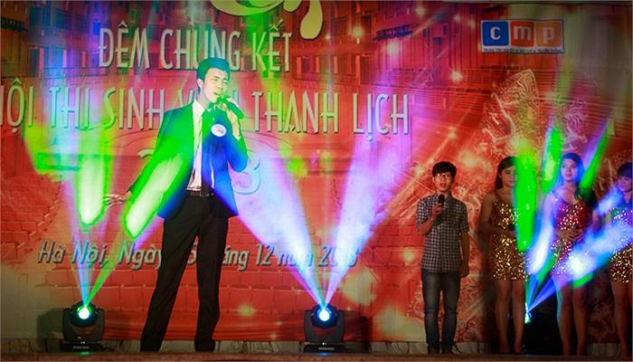 Nam sinh tài năng Nguyễn Thế Mạnh (SBD 088) và Nhóm SOL biểu diễn ca khúc Chuyện mưa.