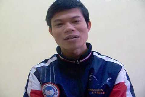 Hung thủ Nguyễn Hữu Chính.