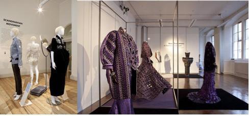Một số hình ảnh trong hoạt động International Fashion Showcase trong khuôn khổ hoạt động của London Fashion Week những năm trước.