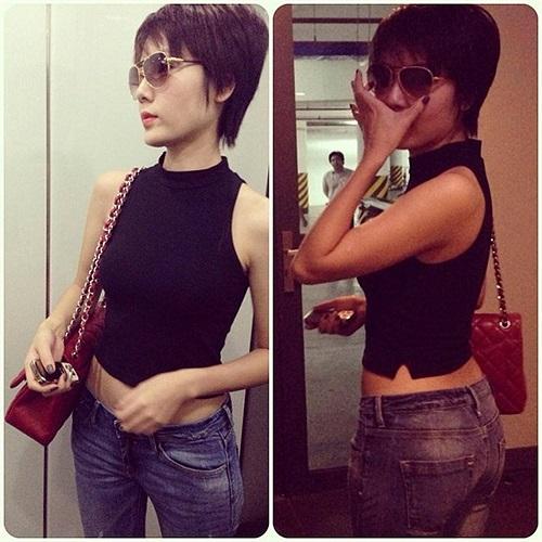 Phong cách thời trang cá tính của Phương Linh.