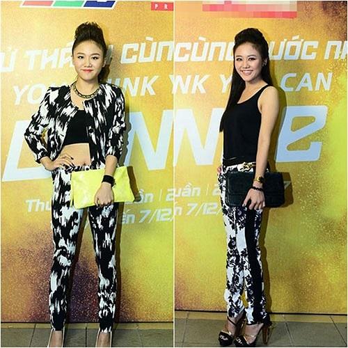 Năm 2013 ghi nhận sự tiến bộ vượt bậc trong phong cách thời trang của nữ ca sỹ Văn Mai Hương.