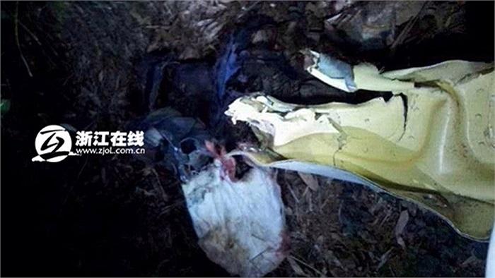 Chinanews đưa tin, máy bay quân sự J-8 của quân đội Trung Quốc đã gặp nạn và gây ra một vụ cháy nổ lớn