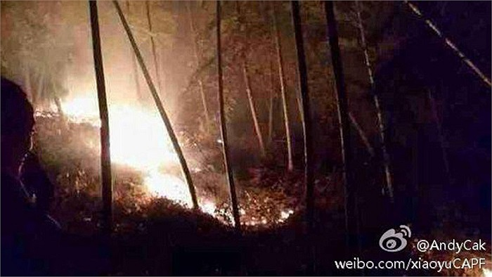 Theo Chinanews, phi công này đã thiệt mạng