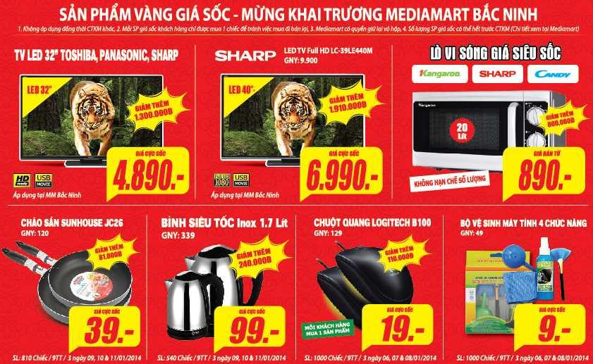 Media Mart sắp khai trương đại siêu thị điện máy lớn nhất tỉnh Bắc Ninh
