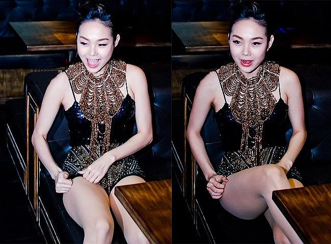 Hai năm gần đây, Minh Hằng đang lột xác ngày một sexy hơn với thời trang siêu ngắn.