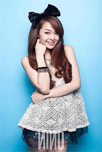 Gương mặt sáng, nụ cười rạng rỡ đã làm nên thương hiệu của 'Bé Heo'.