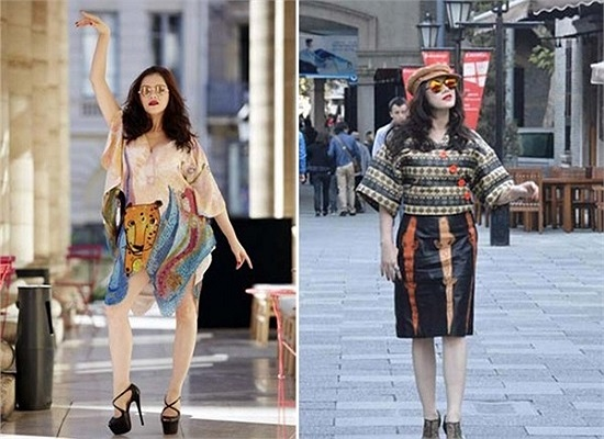 Cách khoe dáng và váy áo hàng hiệu khó hiểu của Lý Nhã Kỳ tại Paris Fashion Week.