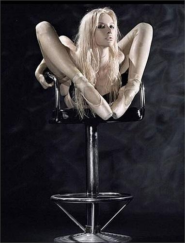 Cuộn tròn trên ghế
