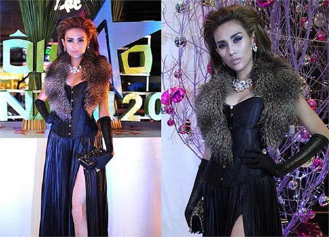 Cách phối trang phục rối mắt và chuộng mix phụ kiện không tạo được hình ảnh sang trọng và đẳng cấp cho Hoàng Yến.