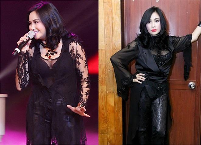 Bộ cánh Thanh Lam diện không chỉ lọt trang phục xấu của năm mà còn chứng minh gu thời trang không mấy cải thiện của diva làng nhạc Việt.