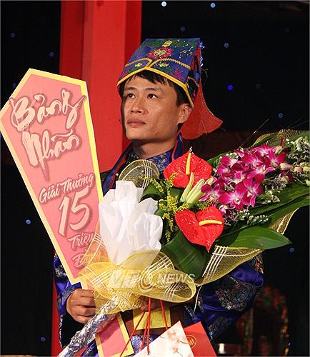 Kỳ thủ Nguyễn Anh Quân đoạt giải nhì, với danh hiệu Bảng nhãn.