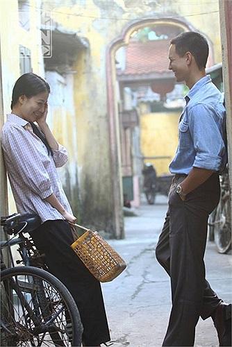 Trương Ngọc Ánh và vai diên trong bộ phim mới.