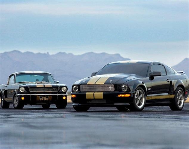 Tới năm 2006, Ford Shelby GT H, phiên bản đặc biệt phong cách xe đua được tung ra thị trường
