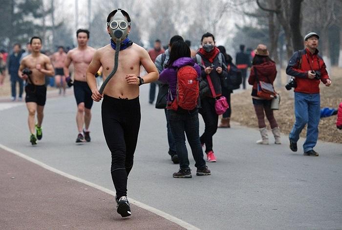 Giải maraton bán khỏa thân ở Bắc Kinh, Trung Quốc