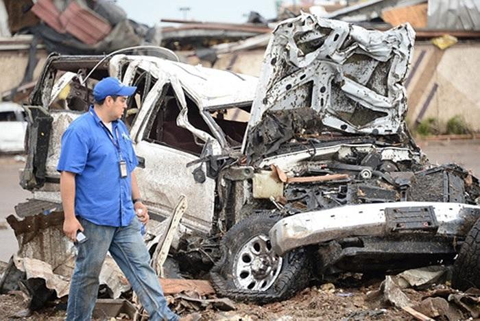 ít nhất 91 người chết trong trận lốc xoáy kinh hoàng quét qua Oklahoma, Mỹ đêm 20/5