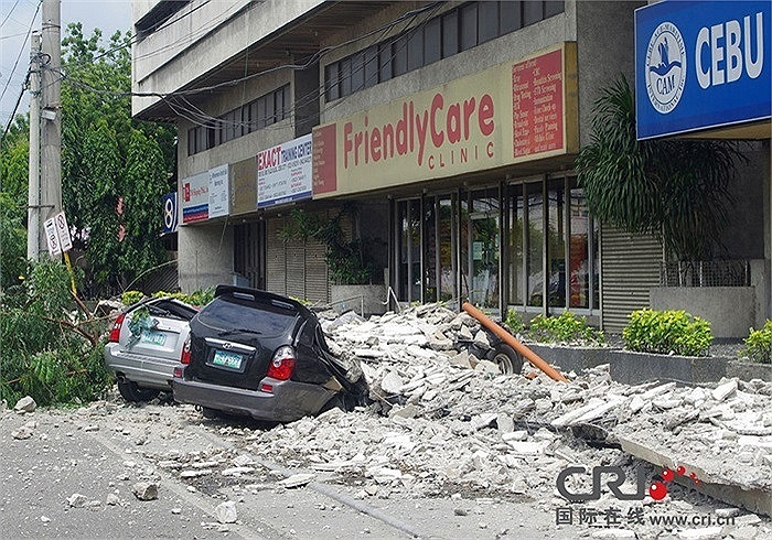 Trước đó, một trận động đất mạnh 7,2 độ Richter ở miền trung Philippines ngày 15/10 đã cướp đi 93 sinh mạng