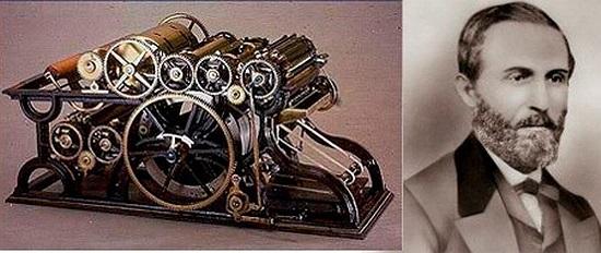 William Bullock: Máy in. Năm 1867, nhà khoa học người Mỹ, William Bullock đã phát minh ra loại máy in kiểu mới, đây được đánh giá là cuộc cách mạng với ngành in vào thời điểm đó. Tuy nhiên trong quá trình lắp đặt, chân của William kẹt trong máy in và ông đã bị tử nạn