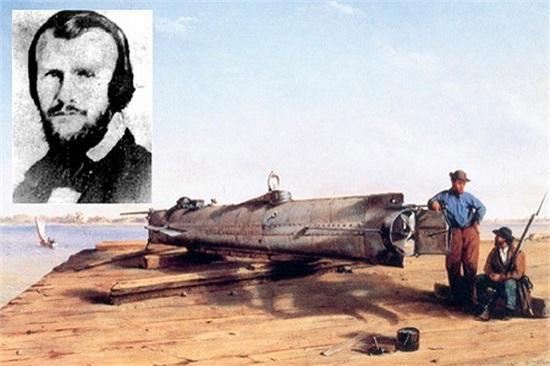 Horace Lawson Hunley: Tàu ngầm. Năm 1863, nhà khoa học người Mỹ, Horace Lawson Hunley đã tử nan khi chiếc tàu ngầm do chính ông phát minh bị chìm trong quá trình thử nghiệm.