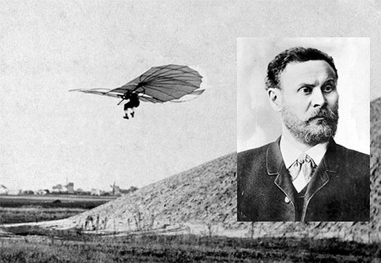 Otto Lilienthal: Tàu lượn. Năm 1896, nhà khoa học người Đức, Otto Lilienthal đã phải trả giá bằng mạng sống của mình khi thử nghiệm chiếc tàu lượn do chính ông phát minh.