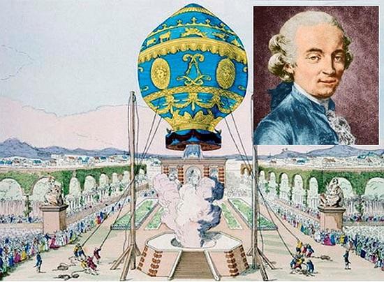 Jean-Francois Pilatre de Rozier: Khinh khí cầu. Năm 1785, nhà khoa học người Pháp đã tử nạn khi chiếc khinh khí cầu do ông phát minh nổ tung trong quá trình bay thử.
