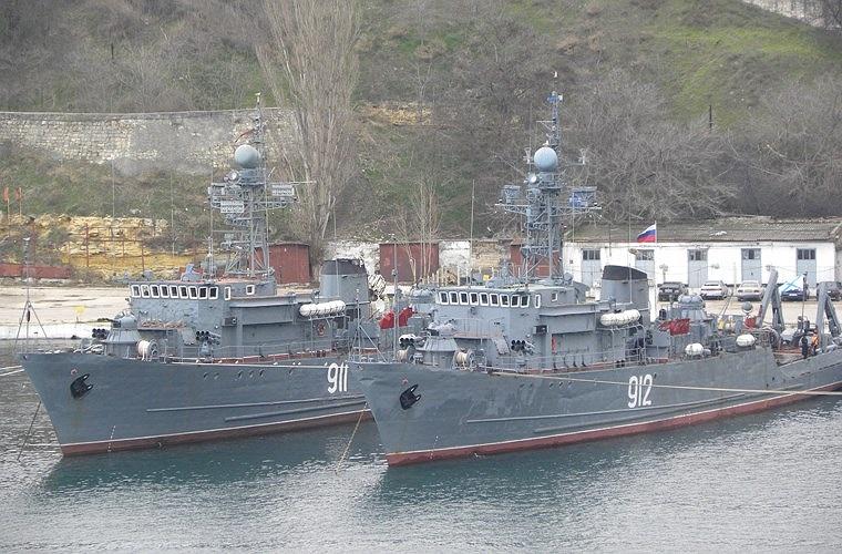 Hiện nay, Hải quân Nhân dân Việt Nam trang bị khoảng 8 tàu quét mìn do Liên Xô chế tạo và viện trợ giai đoạn 1970-1980. Trong đó, lớn nhất là 2 chiếc tàu thuộc Project 266 lớp Yurka được chuyển giao từ năm 1979. Ảnh minh họa nước ngoài