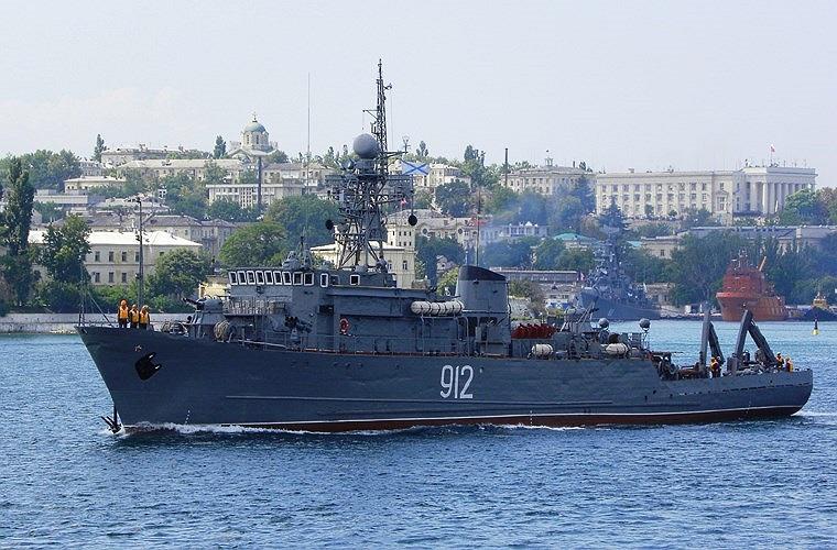 Lớp tàu quét mìn Project 266 Yurka có lượng giãn nước tới 873 tấn, dài 52m, rộng 9,4m, mớn nước 2,6m, thủy thủ đoàn 68 người (gồm 6 sĩ quan). Tàu được chế tạo với vật liệu thép từ tính thấp.