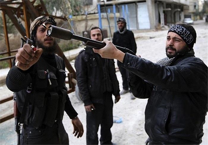 Súng bắn lựu đạn tự chế