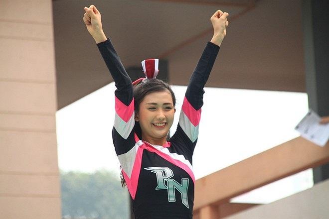 Nữ sinh xinh xắn của trường Phú Nhuận.