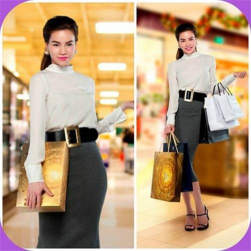 Phong cách thời trang của Hồ Ngọc Hà luôn gây ấn tượng mạnh.