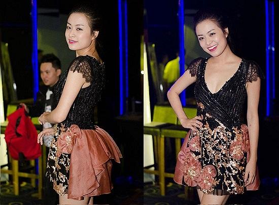 Hoàng Thùy Linh sẽ gợi cảm hơn nếu phần chân váy không quá cầu kỳ.