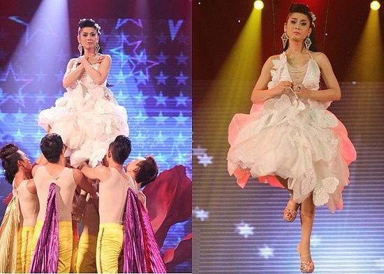 Lâm Chi Khanh biến hóa khôn lường trong đêm nhạc của riêng cô mang tên 'Nếu em được lựa chọn'. Mặc dù nhận nhiều lời chê về style công chúa diêm dúa, nữ ca sỹ vẫn trung thành với phong cách khó đỡ của mình.
