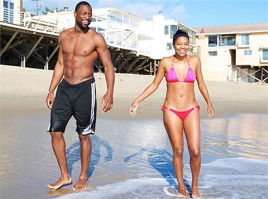 Cặp đôi Dwyane Wade - Gabrielle.