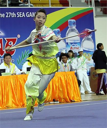 Dù thi đấu khá hay nhưng đương kim vô địch thế giới vẫn chỉ giành HCB SEA Games.