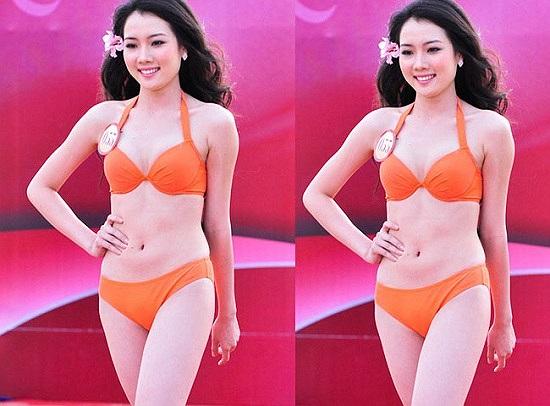 Và cô quen Ngô Quang Hải từ đó.