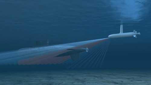 Tàu ngầm có thể xác định được mục tiêu nhanh chóng bằng thiết bị thủy âm