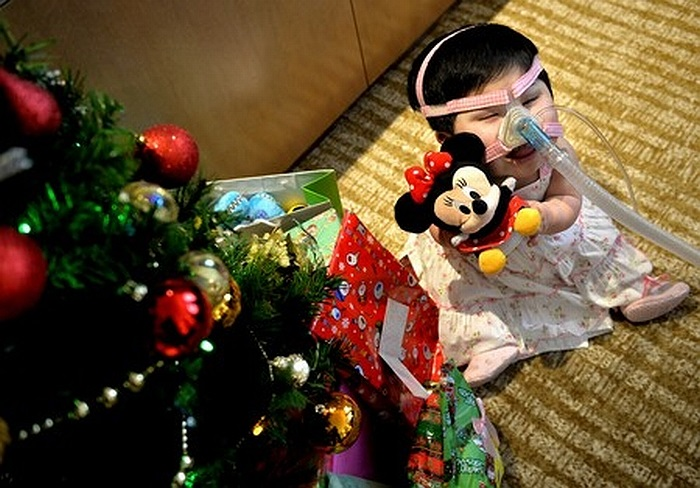 Thiếu nữ Pei Shan (Singapore)đã 15 tuổi nhưng trông vẻ ngoài vẫn như đứa trẻ.