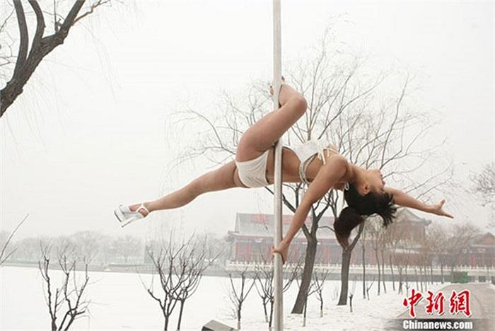Các vận động viên của bộ môn múa cột cũng khổ luyện không kém những vận động viên của bộ môn thể thao khác