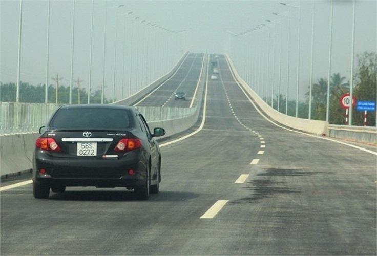 Hạng mục lớn nhất trên đoạn cao tốc này là cầu Long Thành.