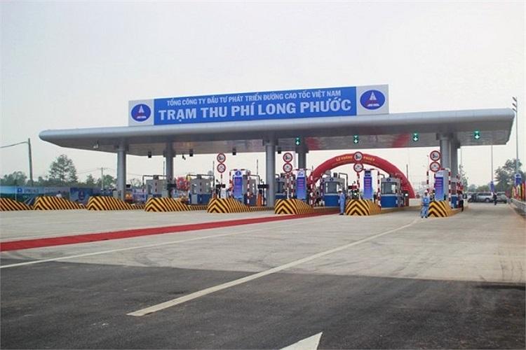 Trạm thu phí Long Phước, Q.9, TP.HCM.