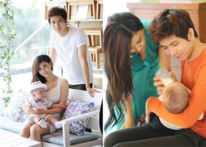 Trương Quỳnh Anh và Tim đang dành tất cả thời gian cũng như tình yêu thương để chăm sóc cho con trai Sushi gần 2 tuổi.