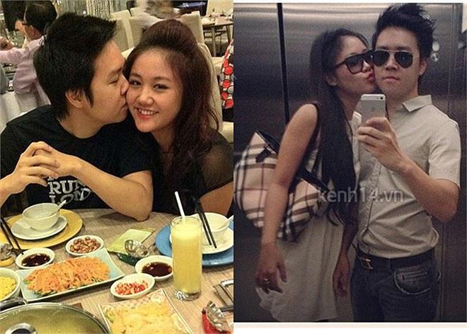 Chuyện tình yêu của cặp đôi đẹp nhất showbiz Hà thành cũng thu hút sự quan tâm của dư luận. Không lâu sau khi nổi tiếng từ Vietnam Idol 2010, giọng ca 17 tuổi vội vàng công khai mối quan hệ tình cảm với nam ca sỹ Lê Hiếu.