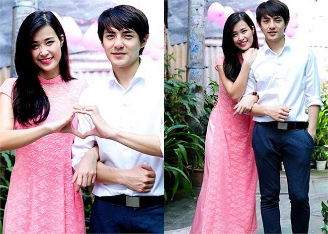 So với nhiều đôi tình nhân khác trong showbiz, chuyện tình yêu của Đông Nhi và Ông Cao Thắng khá ngọt ngào và bình yên.
