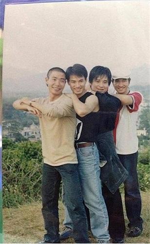 Bộ tứ Công Lý, Xuân Bắc, Tấn Minh, Tự Long thời thanh niên.
