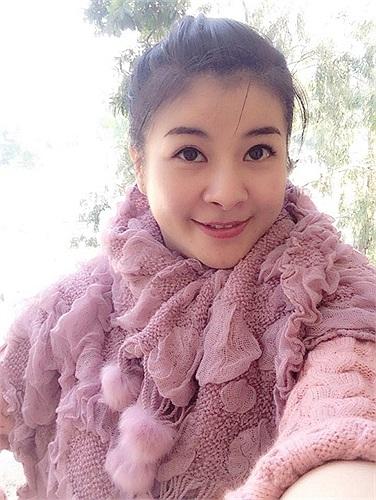 Kim Oanh ấm áp giữa mùa đông Hà Nội.