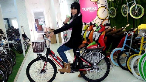 Vikebike giới thiệu Topbike E-cooper xe đạp thế hệ mới