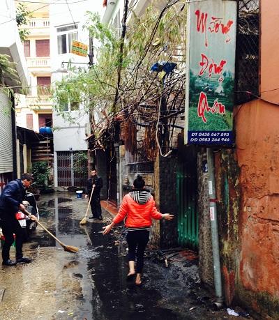 Truy tìm nguyên nhân vụ nhà hàng cháy rụi giữa thủ đô